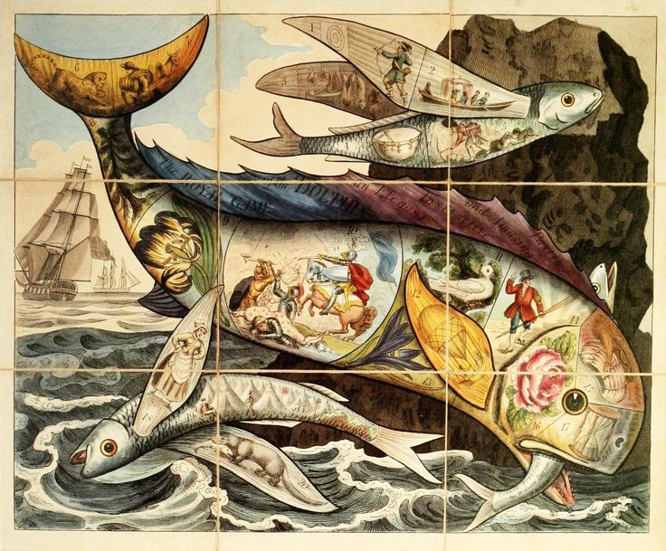 Royal Game of the Dolphin,1821