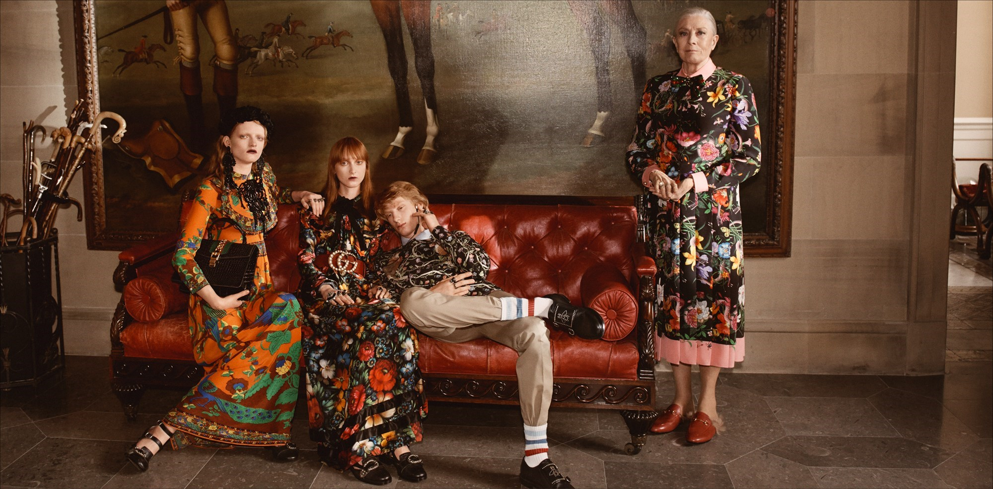 An image from Gucci's 2018 Cruise Collection
