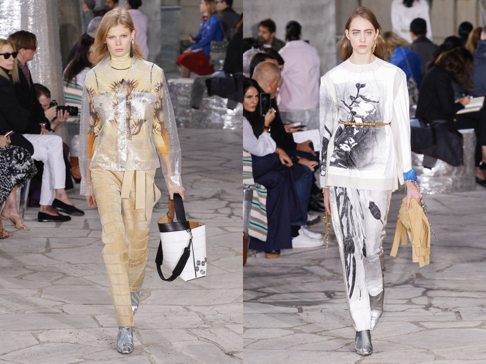 Looks from LOEWE's SS16 show.