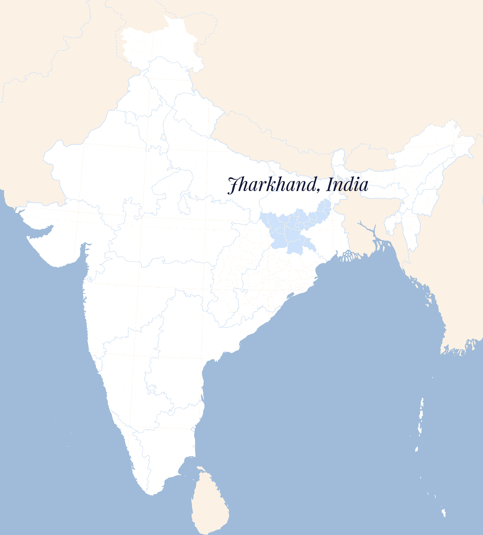 Jharkand, while world-renowned for its silkworm cultivation, remains an impoverished region where most of the population is precluded from reaping the benefits of their work with this precious resource. Project Cocccon, founded in 2012, has made it its aim to involve the local community in its own healthy economic development, creating equitable employment opportunities centered around its innovative new modes of organic silk production.