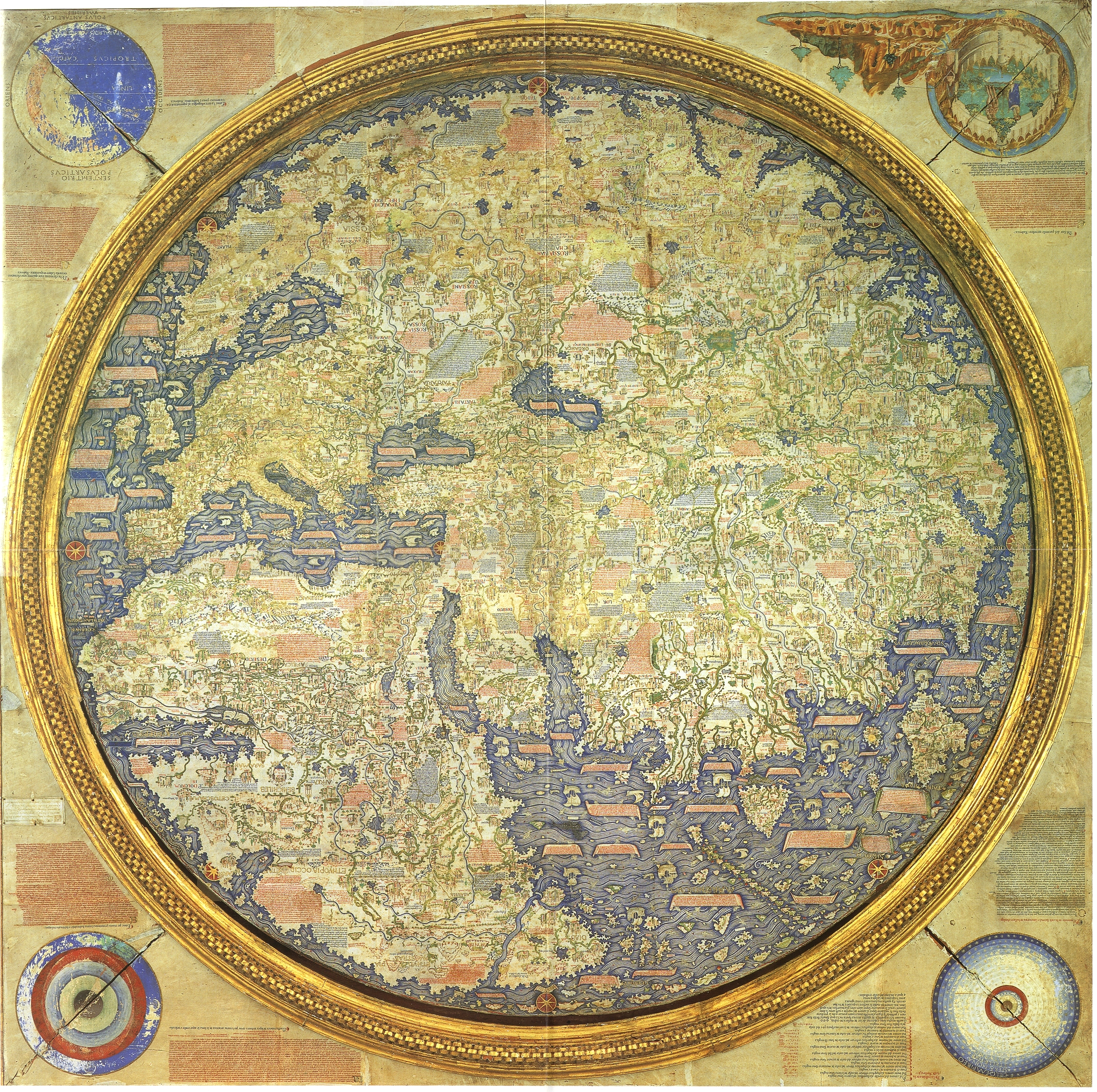 The  Fra Mauro Map , 1459.