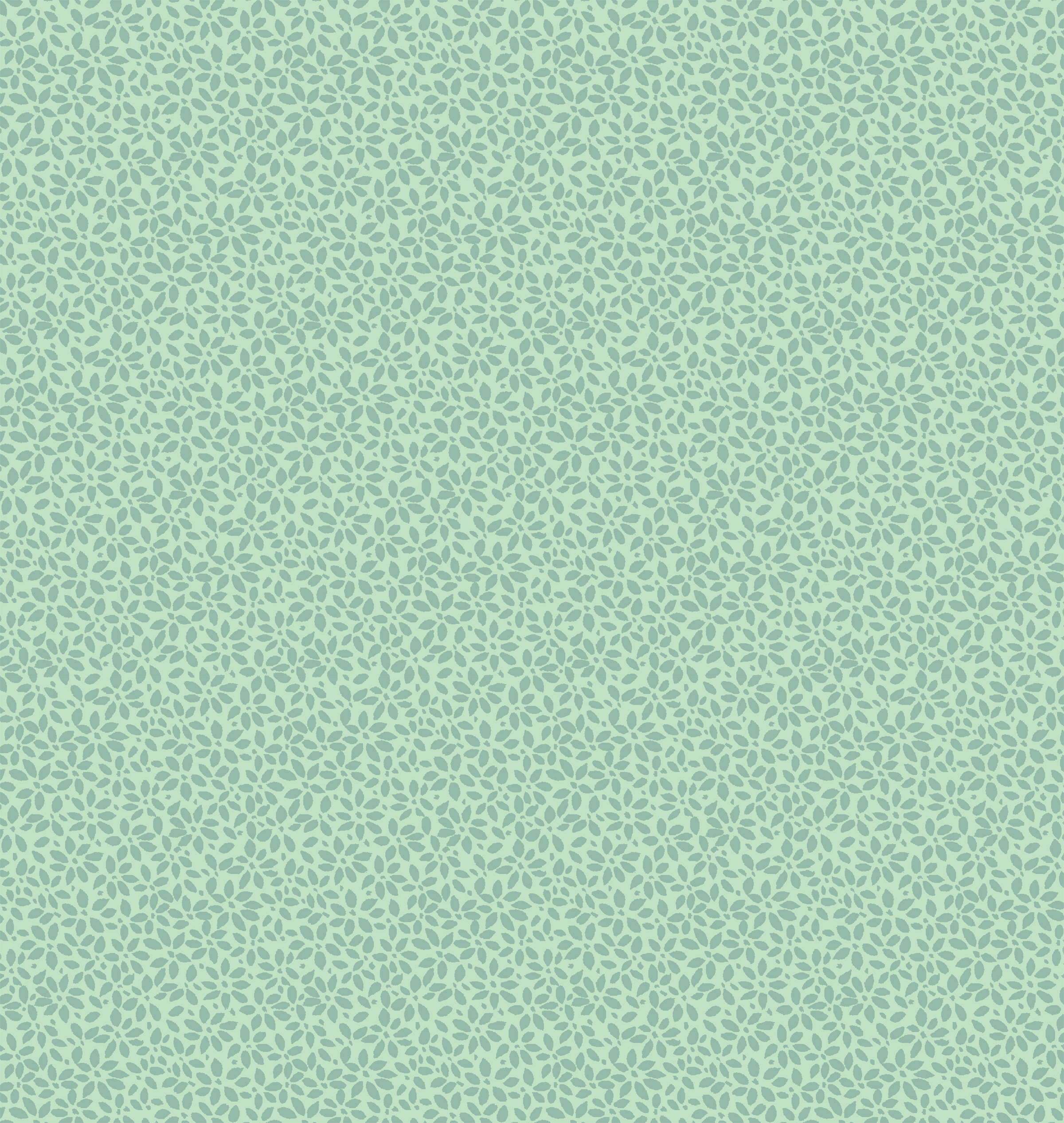 The pattern I developed to fill negative space in the 'Chai Botanical' design.