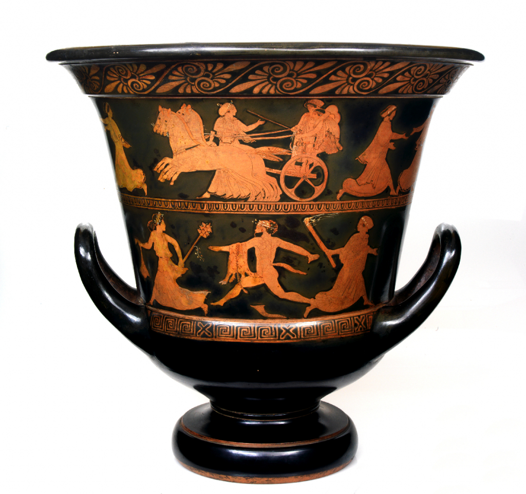 A Calyx-Krater in the Red Figure style, from Calouste Gulbenkian Museum.