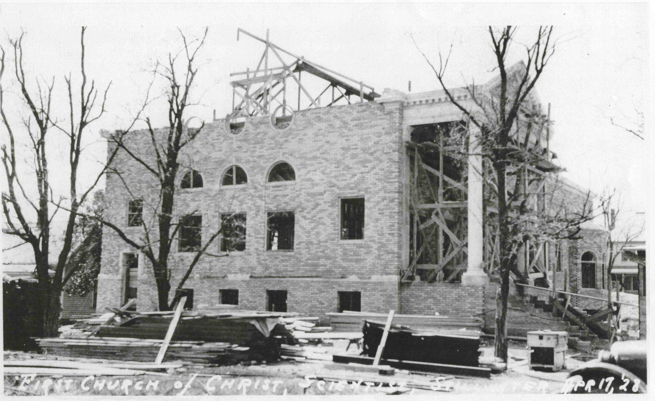 1928 Building Construction