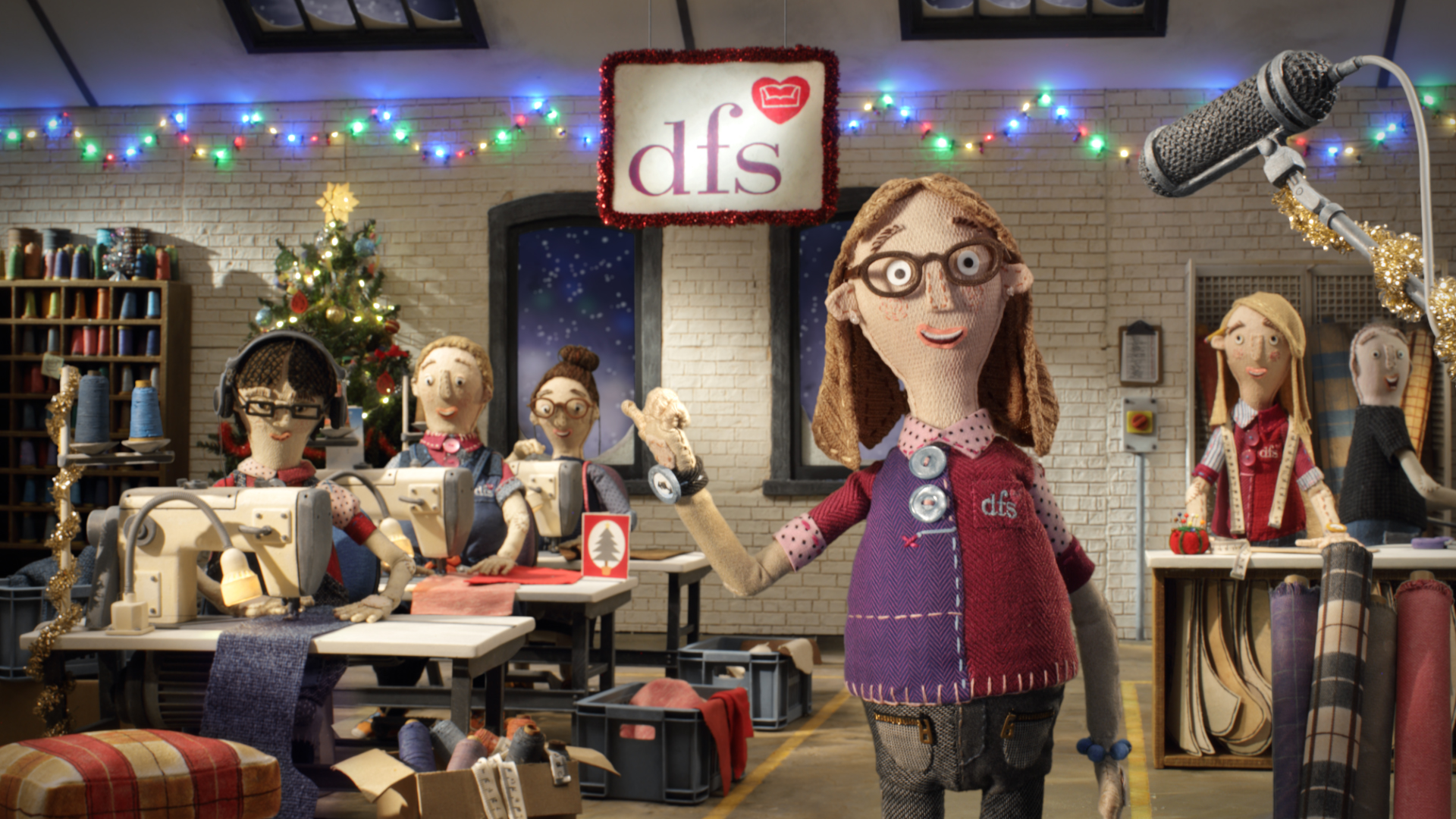 DFS 'Guaranteed Christmas Delivery' by Steve Harding-Hill