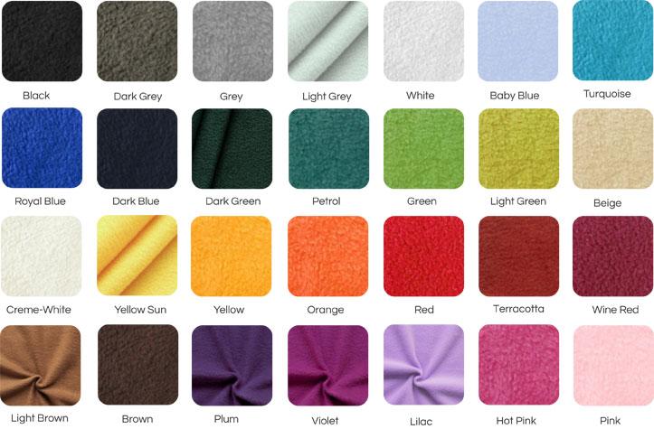 Les couleurs peuvent  être légè  rement différentes des ces montrés sur l'  écran