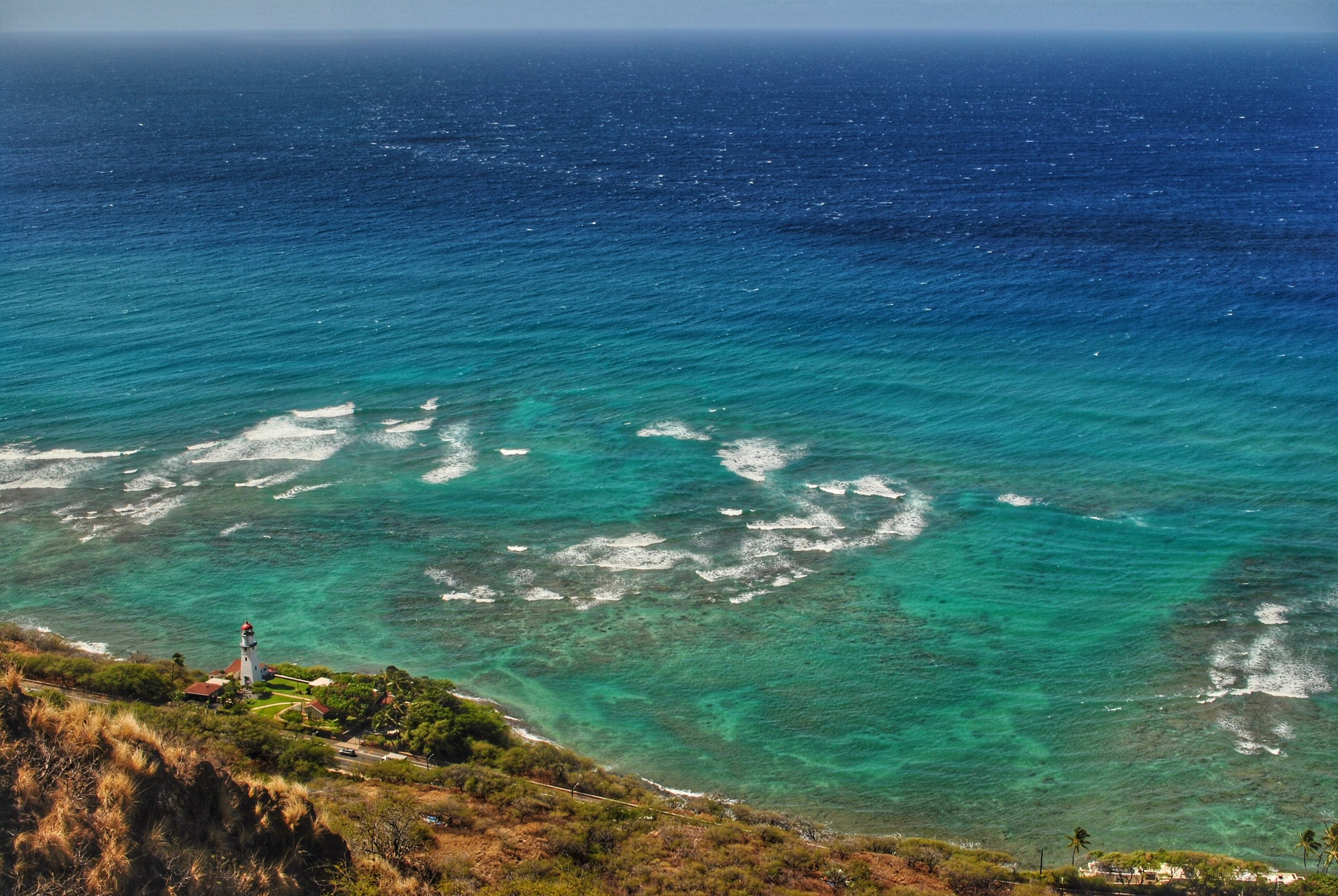view from Diamond Head Hike