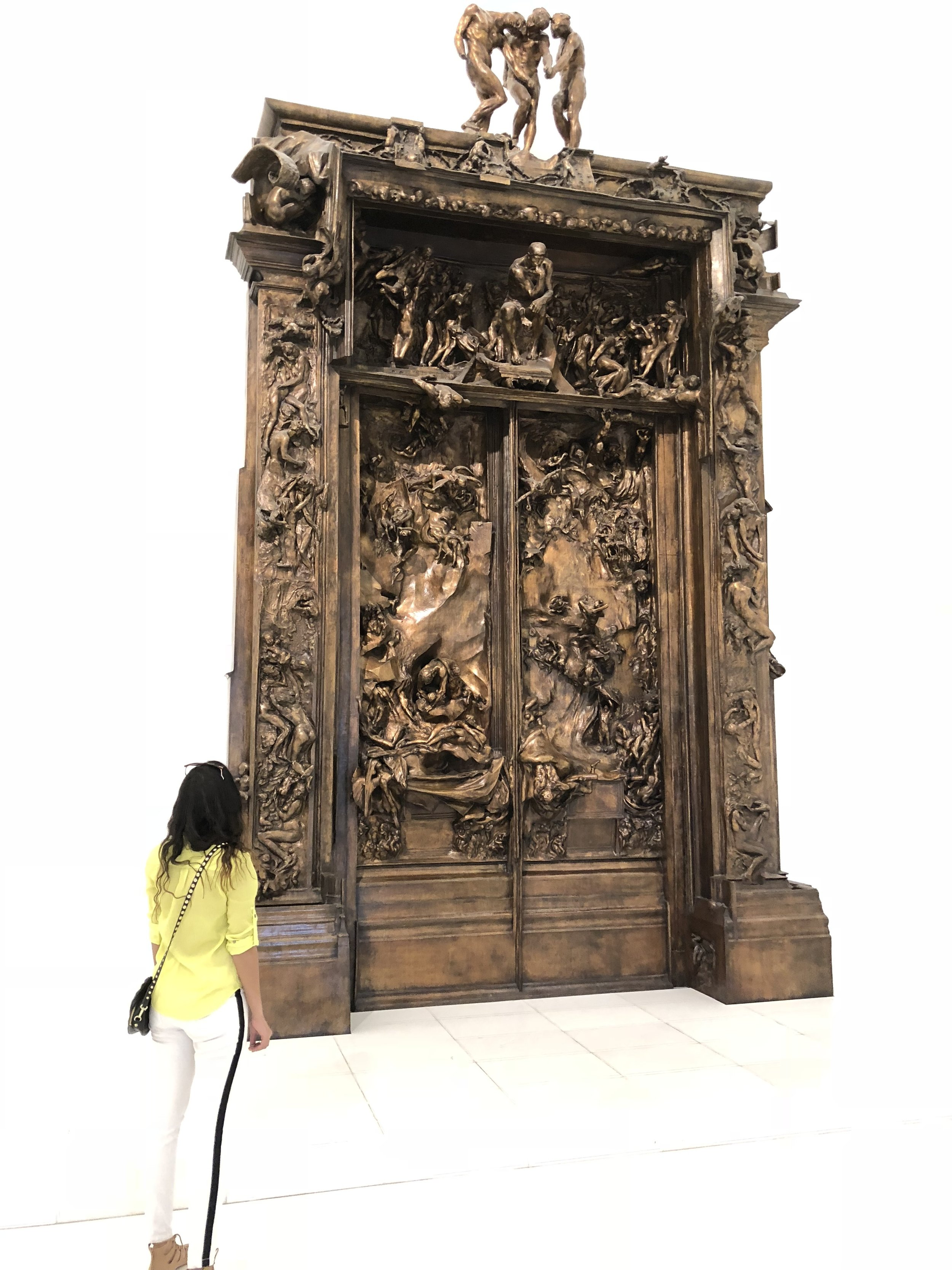 "Rodin's ""The Gates of Hell"""