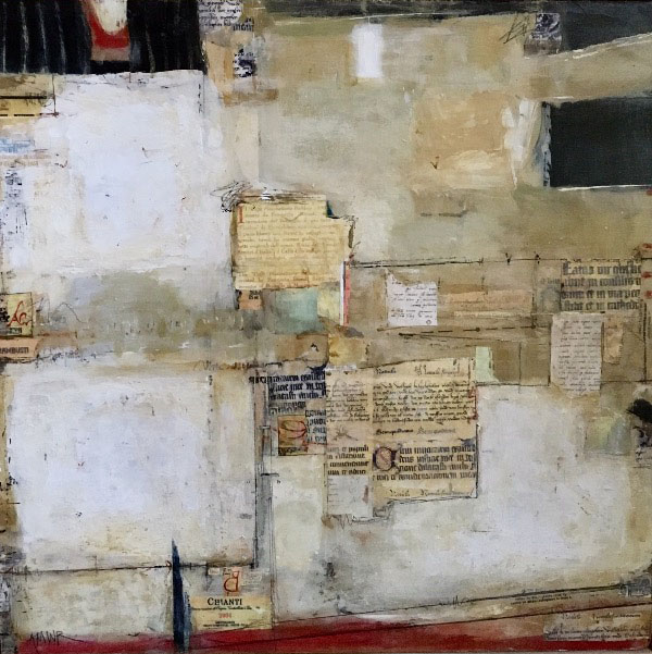"""ECHOES OF ITALY II/ 24""""x 24.5"""" / SOLD"""
