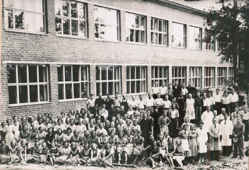 Palmroth factory in Pirkkala in the 1940s