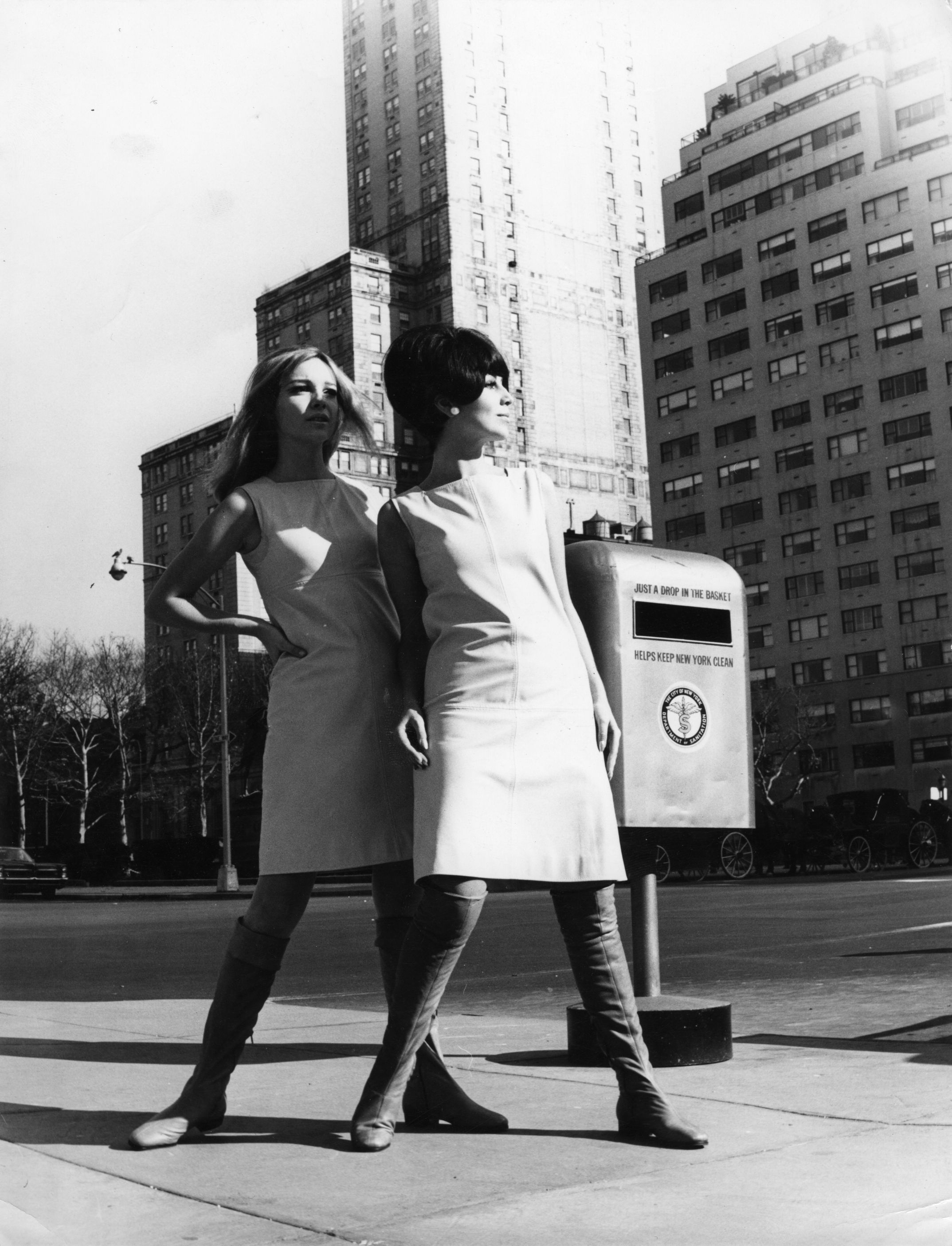 Promoting Palmroth boots in New York in the 1966