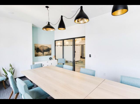 Gather RVA conference space, Scott's Addition location |picture shared by Nicole Rutledge  Design, linked below