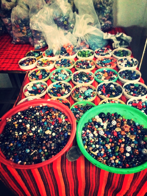 Beads ready to be made into jewelry!