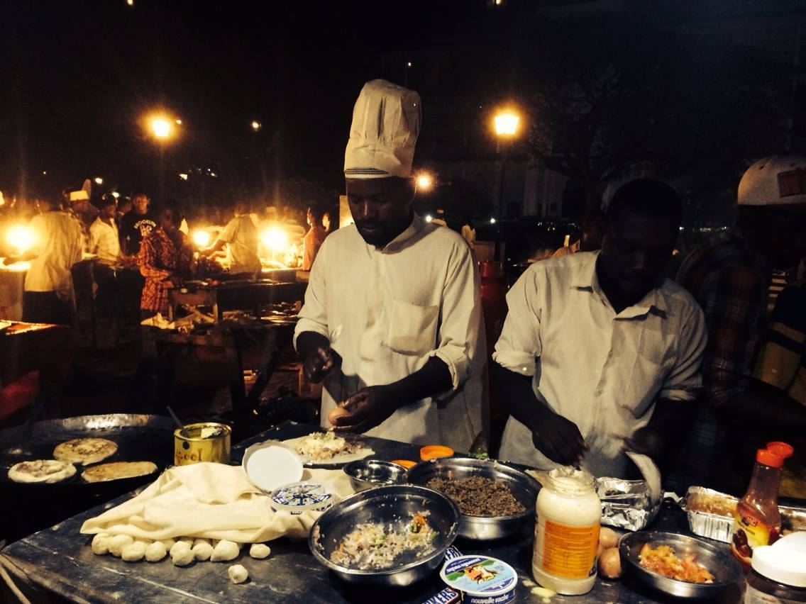 My favourite Zanzibar street food. Delicious pizza-esque eats with an egg base!