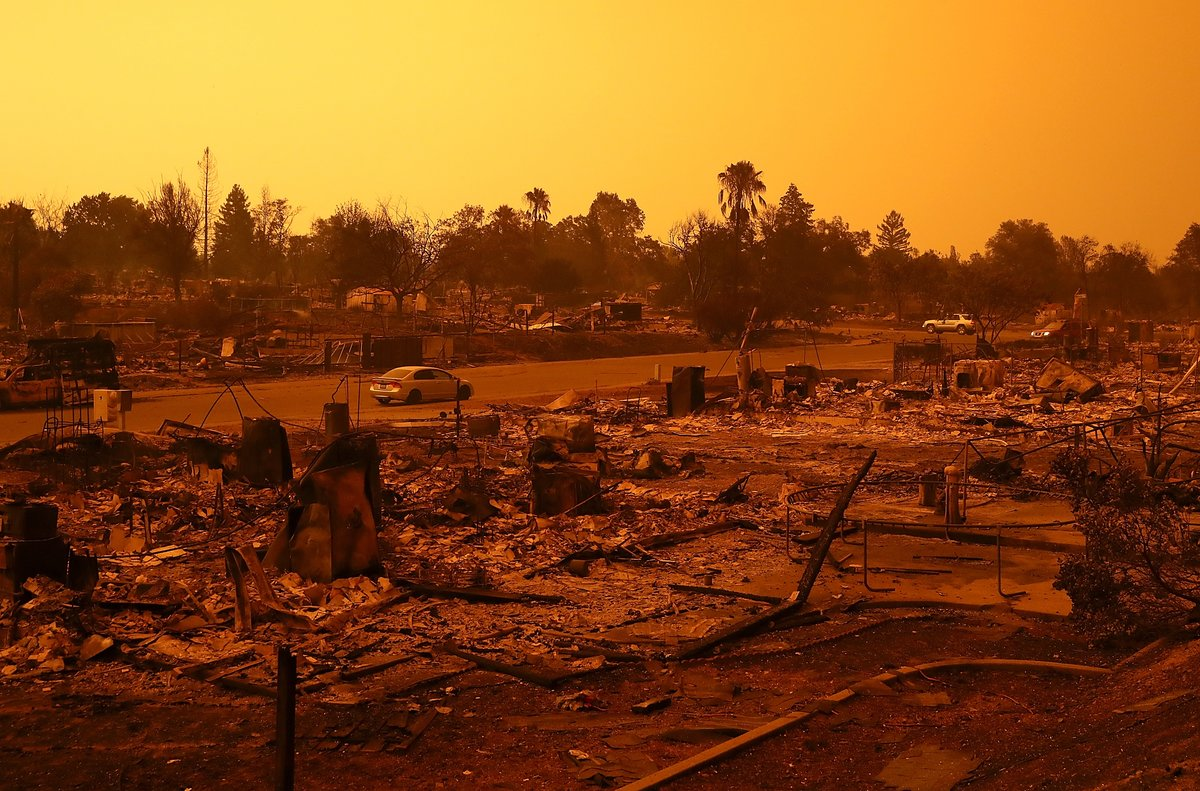 """You are invited to a special mission - """"Campfire, California Relief Outreach"""