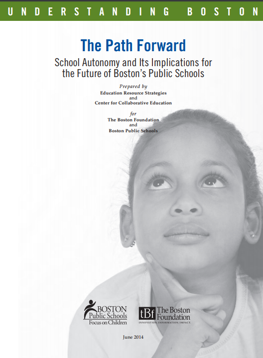 Path Forward - School Autonomy