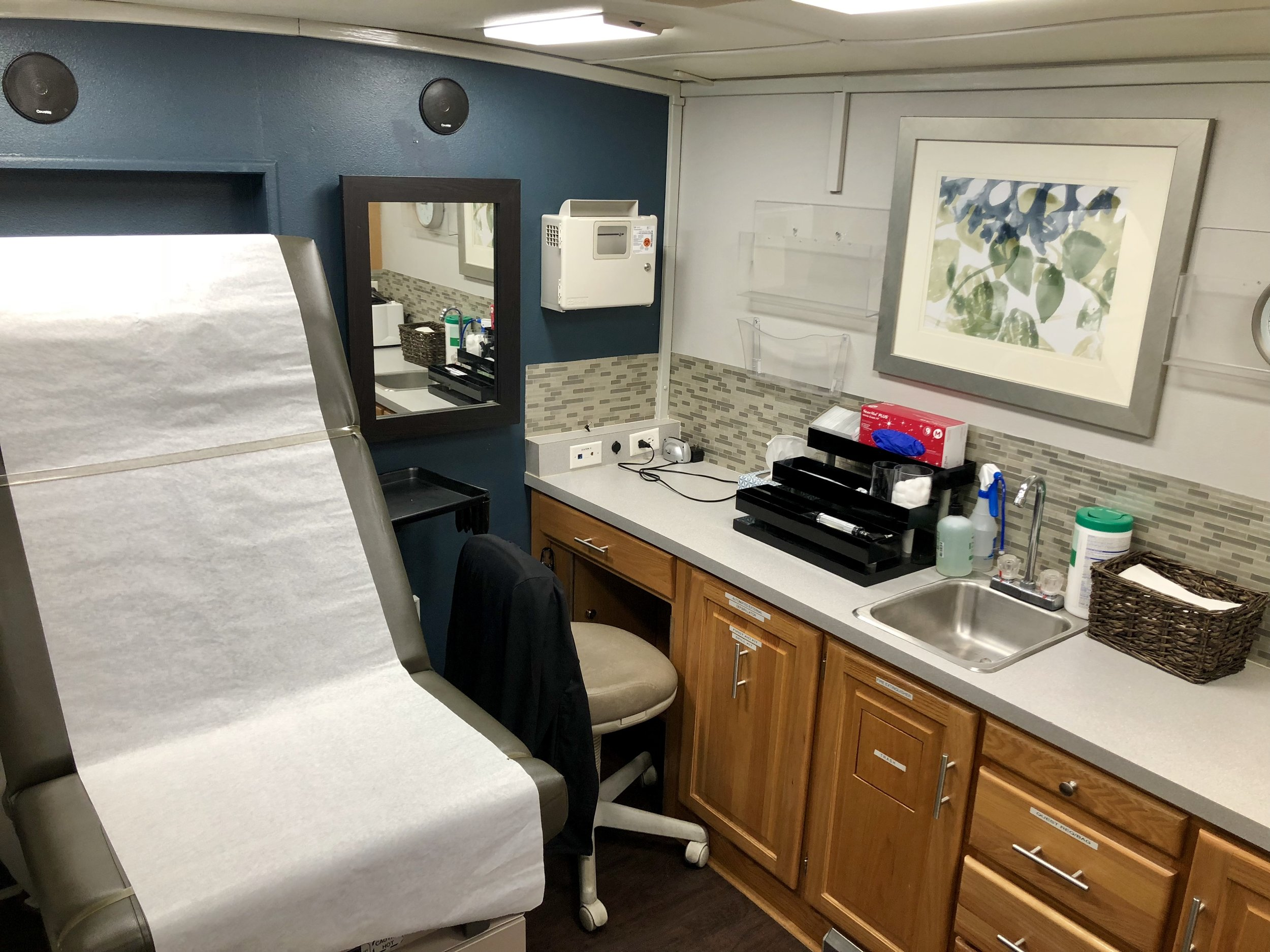 Exam room (side view)
