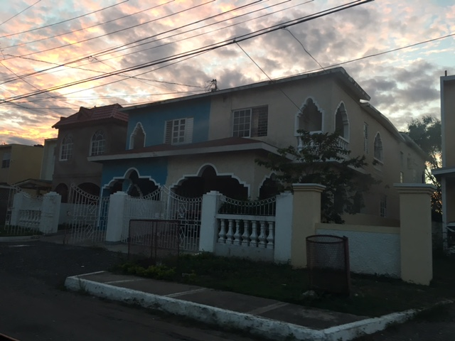 I fell in love with the colorful and intricately designed homes in Jamaica.