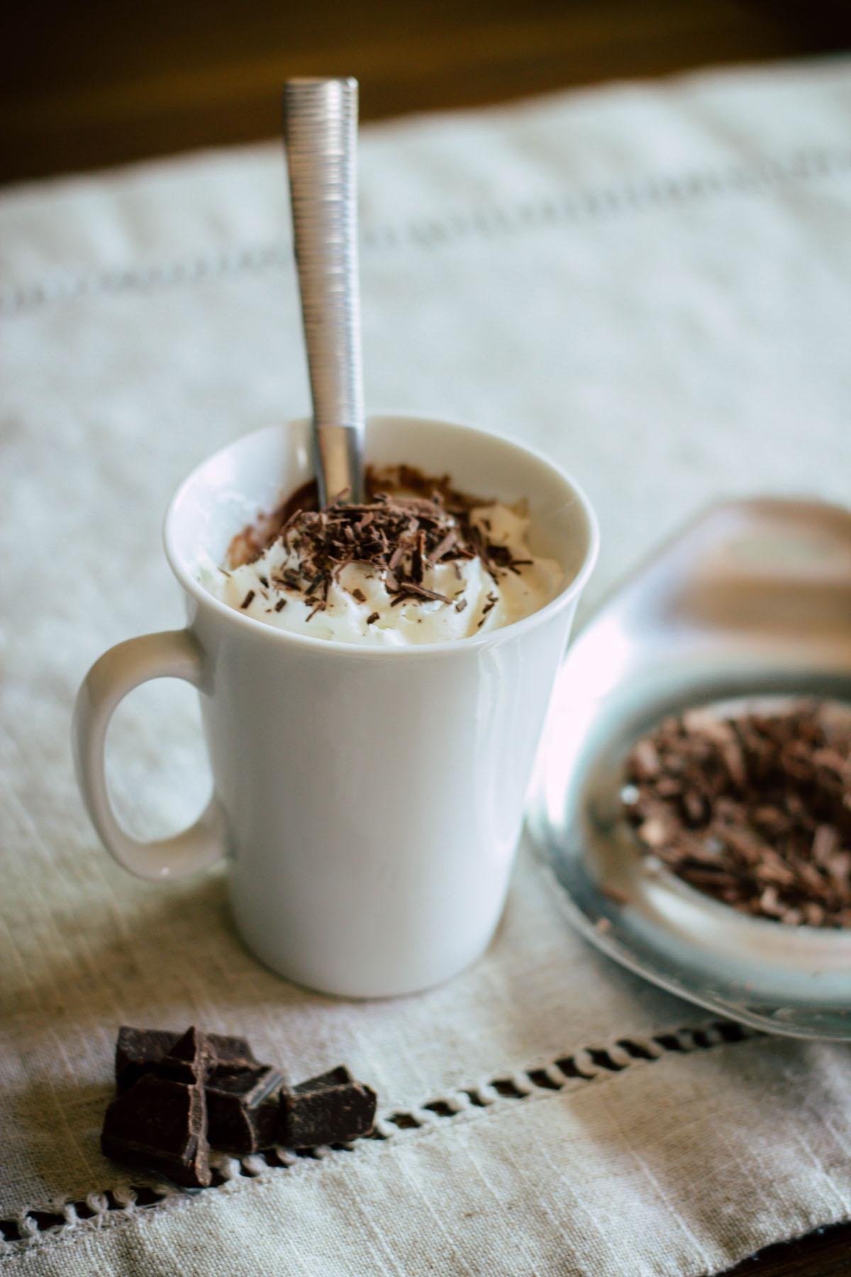 Chocolate Pot de Crème -