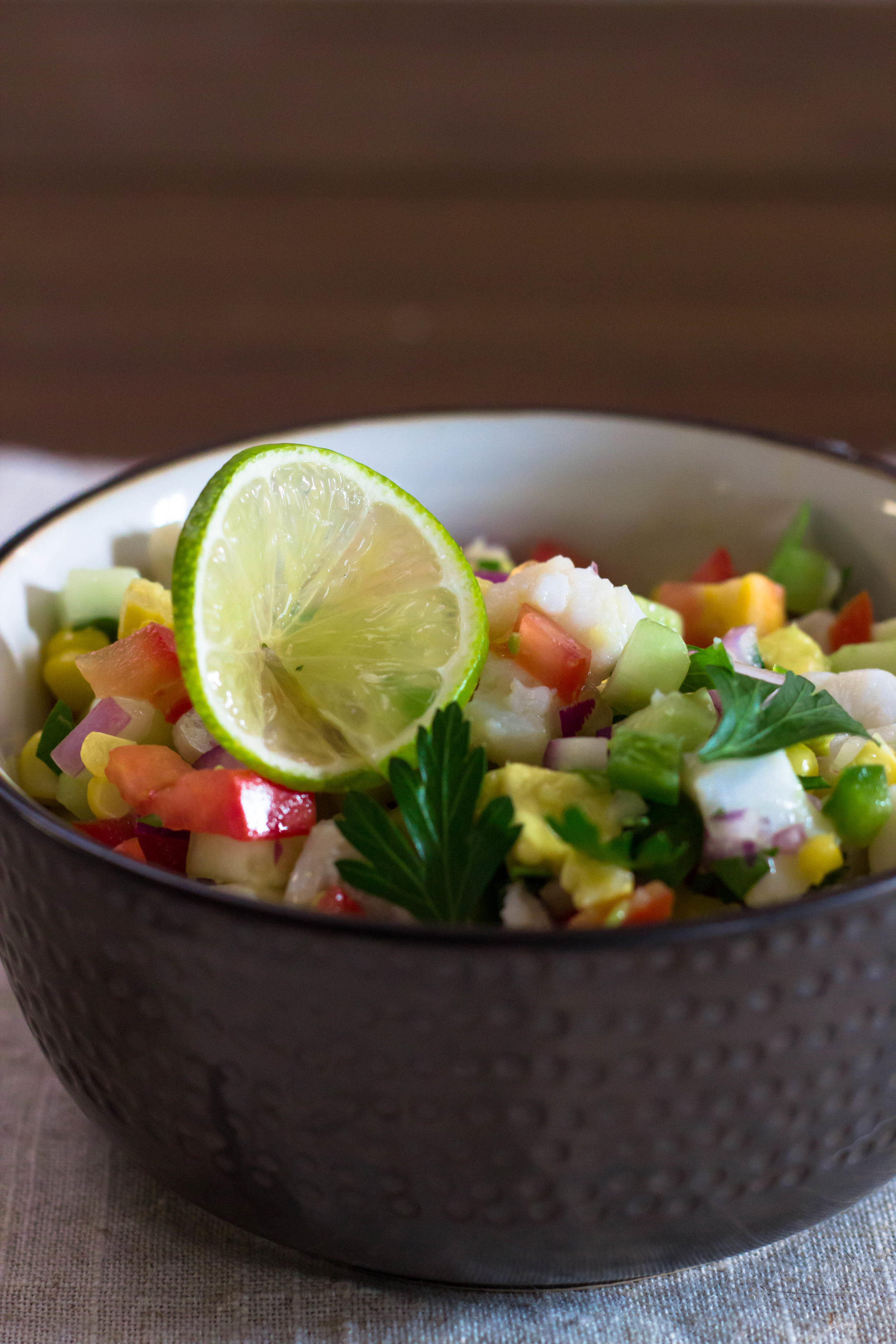 Whitefish Ceviche -