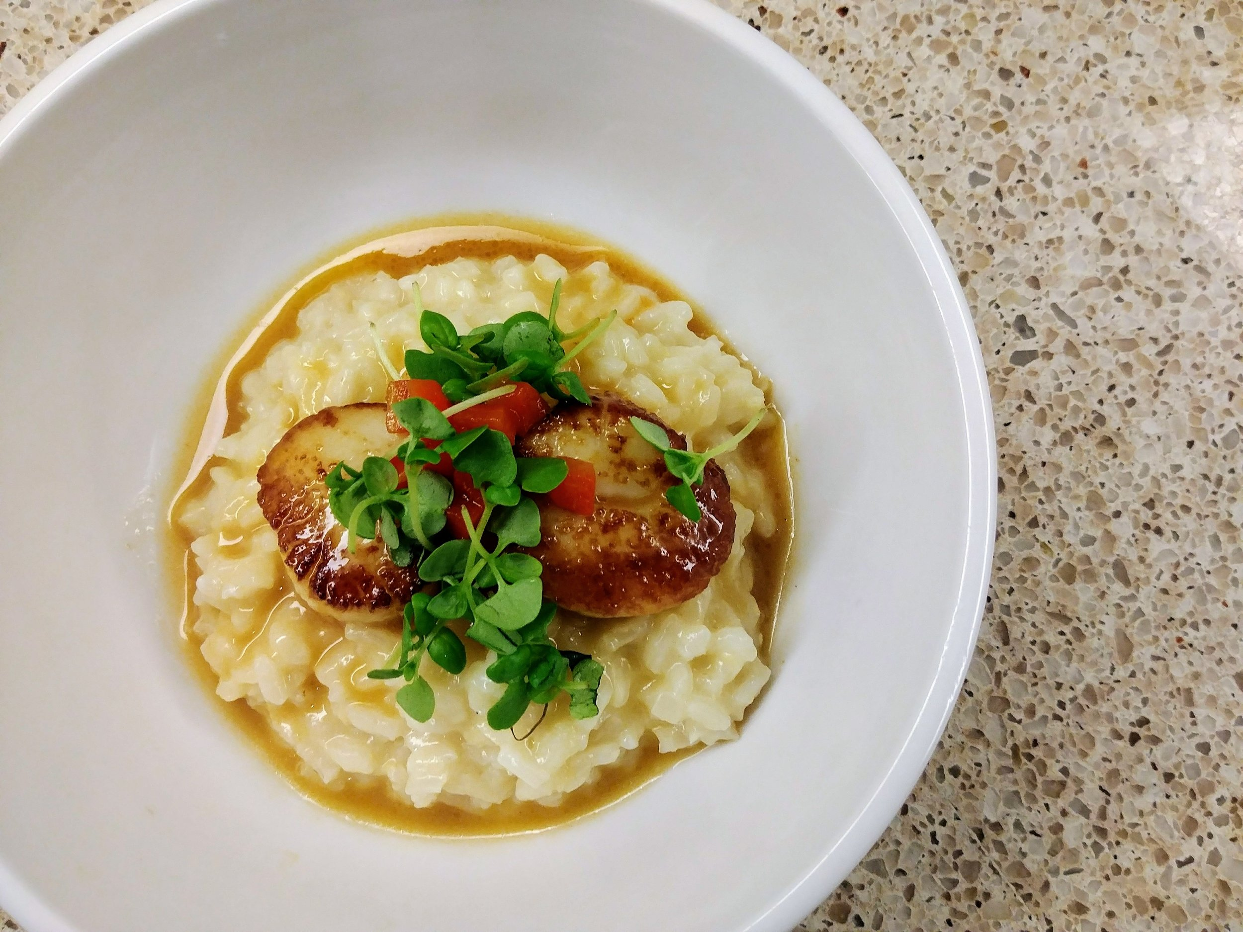 Diary of a Personal Chef-Scallops