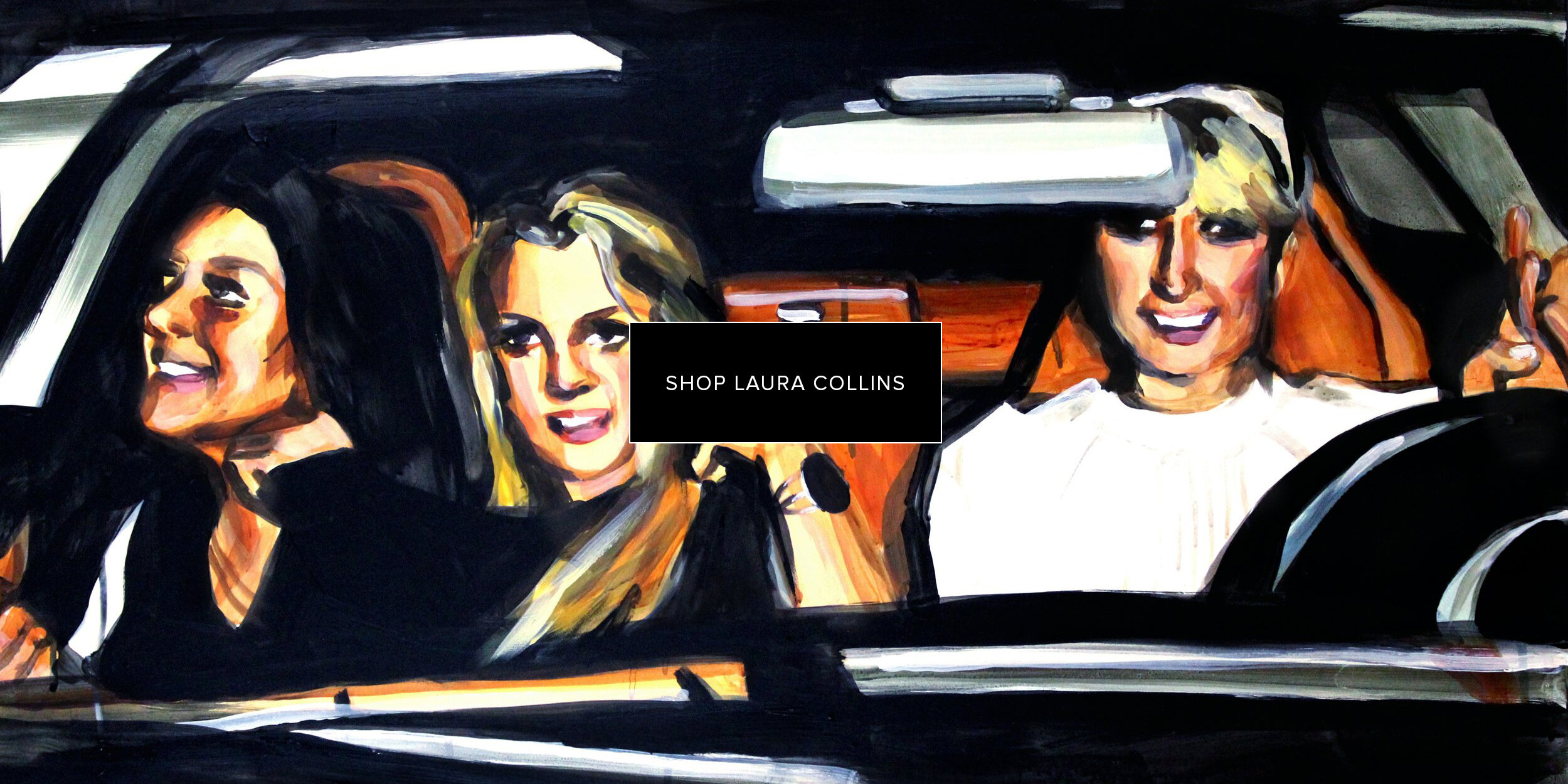 Laura-Collins-Lindsay-Lohan-Britney-Spears-and-Paris-Hilton-in-a-Car-24x36 copy.jpg