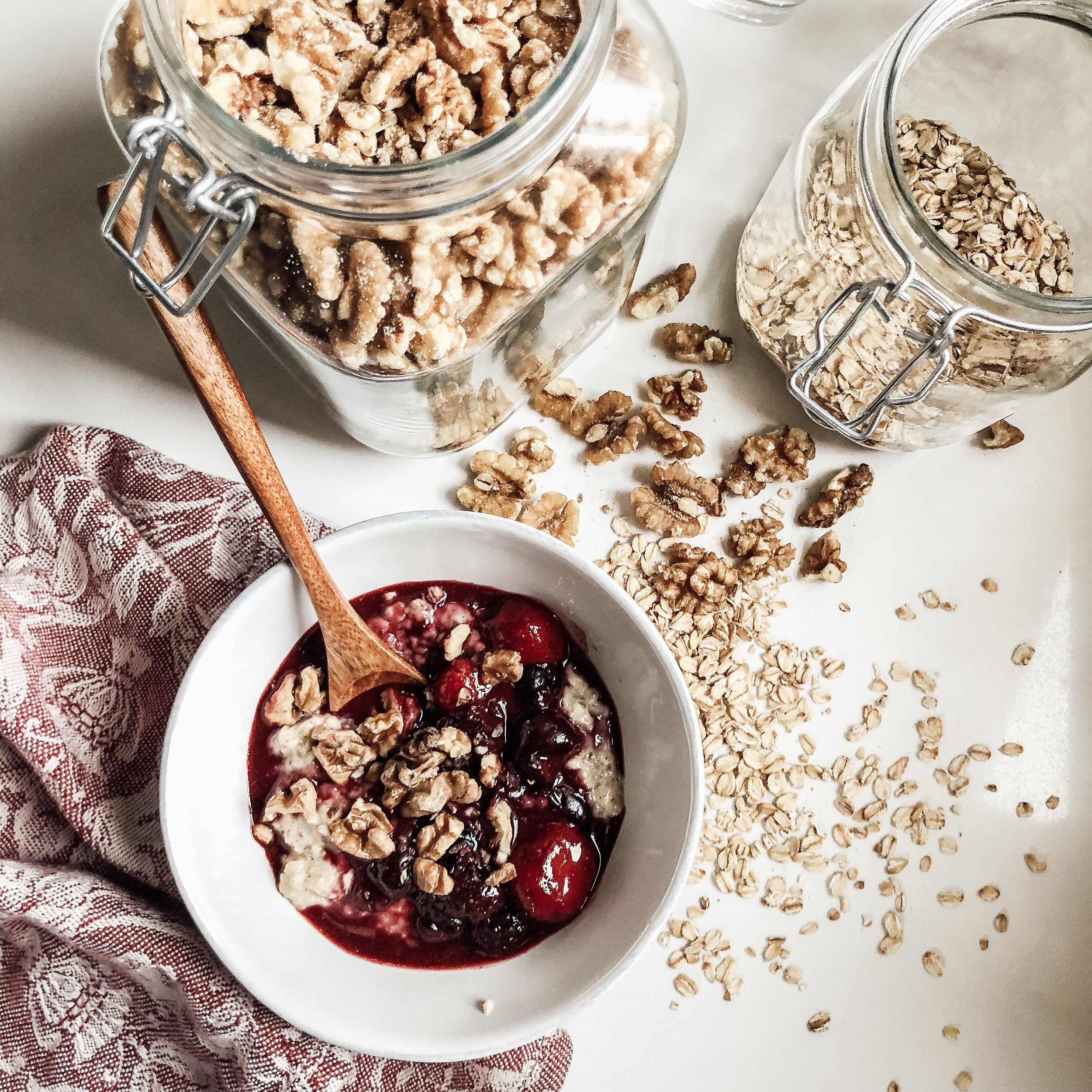Creamy Chia Seed Oatmeal