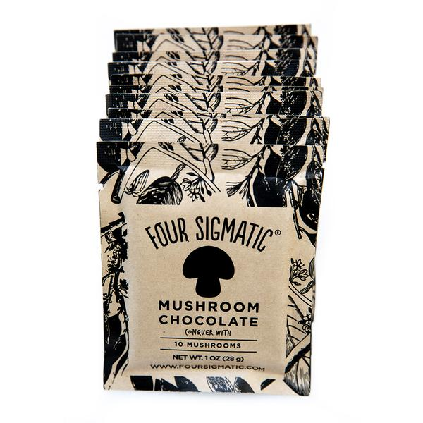four sigmatic chocolate review