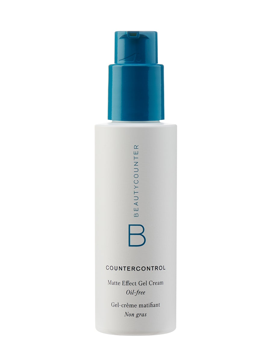 Countercontrol Matte Effect Gel Cream | Oil-free - All the hydration. None of the shine.Control oil for up to eight hours* with this innovative cream-to-gel formula for oily and blemish prone skin.Controls oil for up to 8 hours*96% said skin is less oily**93% said skin looks balanced**92% said makeup goes on better**