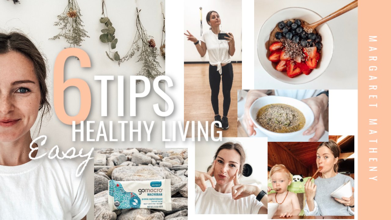 Easy tips for living healthy