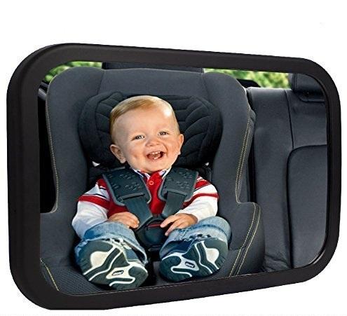 Rear facing carseat mirror