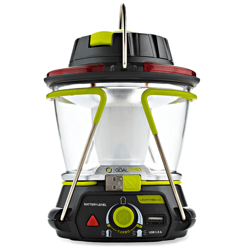 This car camping lantern has a lot of great functions beyond just lighting up your picnic table.