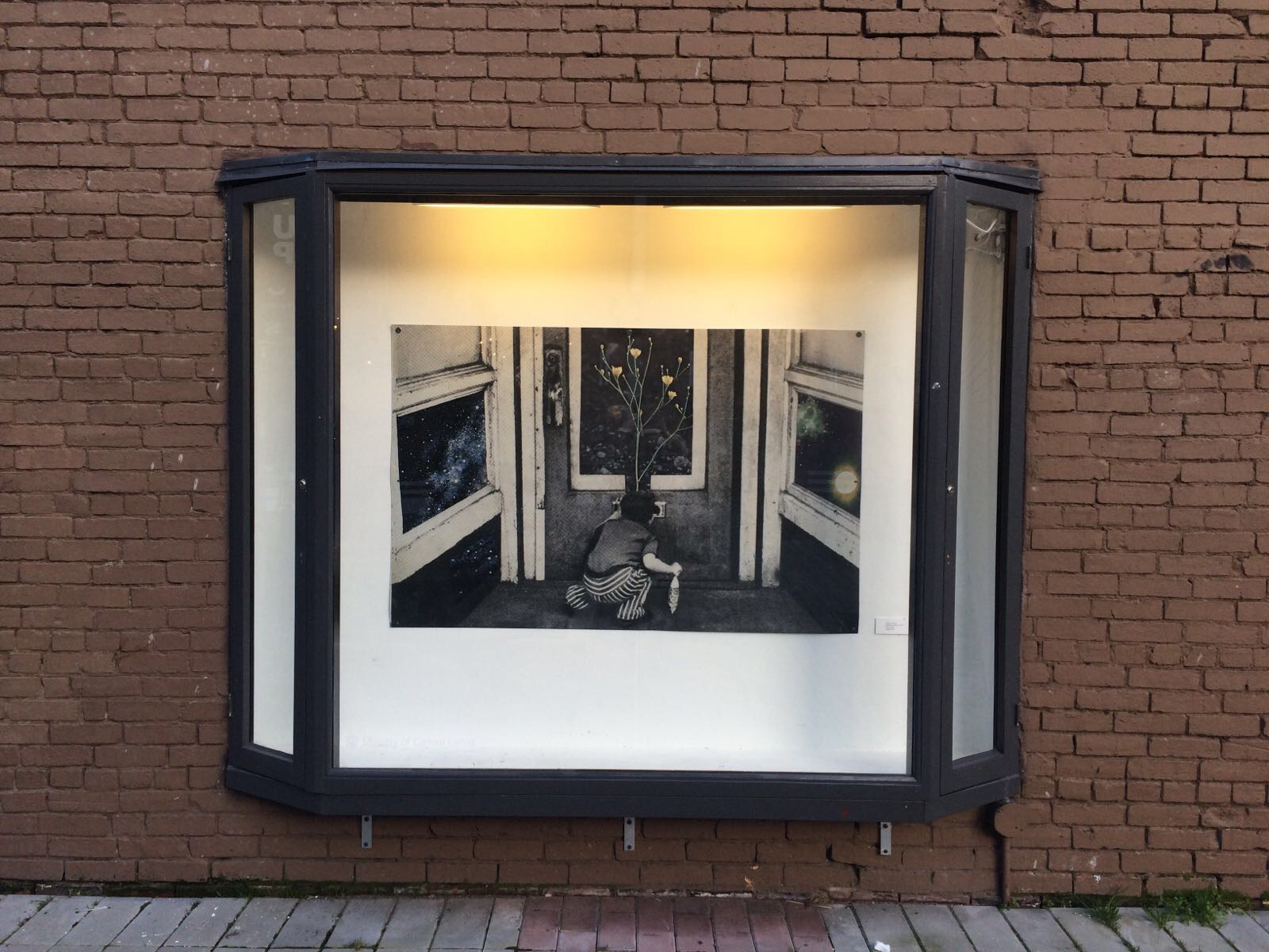 "Elyse Longair, Between Atoms, 2016, 38.5"" x 59.8"" Digital Print"