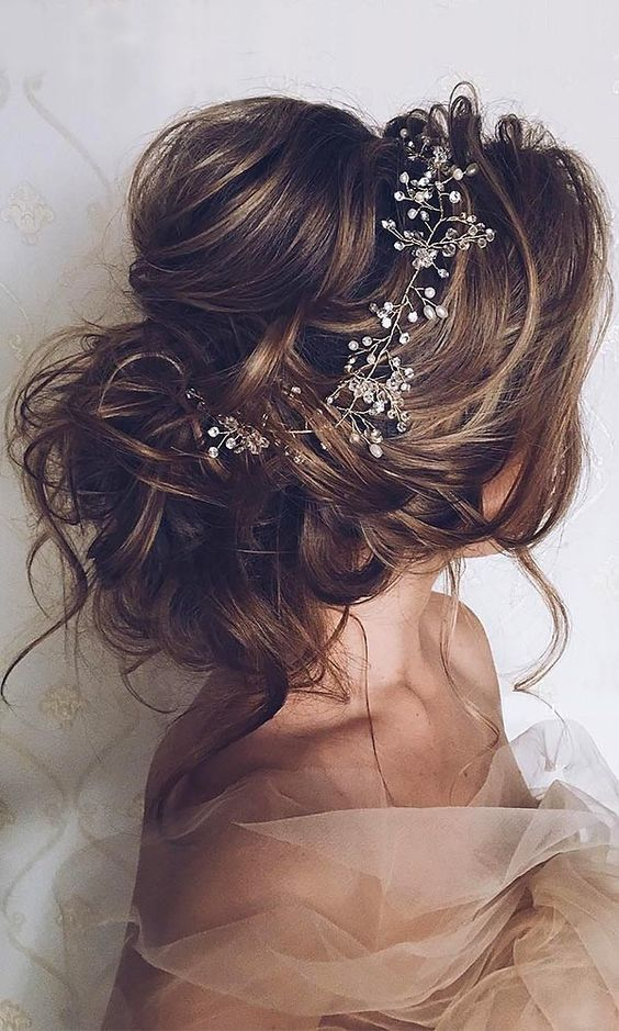 Inspiration for  bridal hair  More  romantic hairstyles