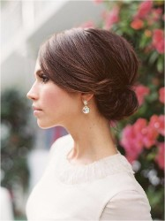 Inspiration for  bridal hair  More  up-dos