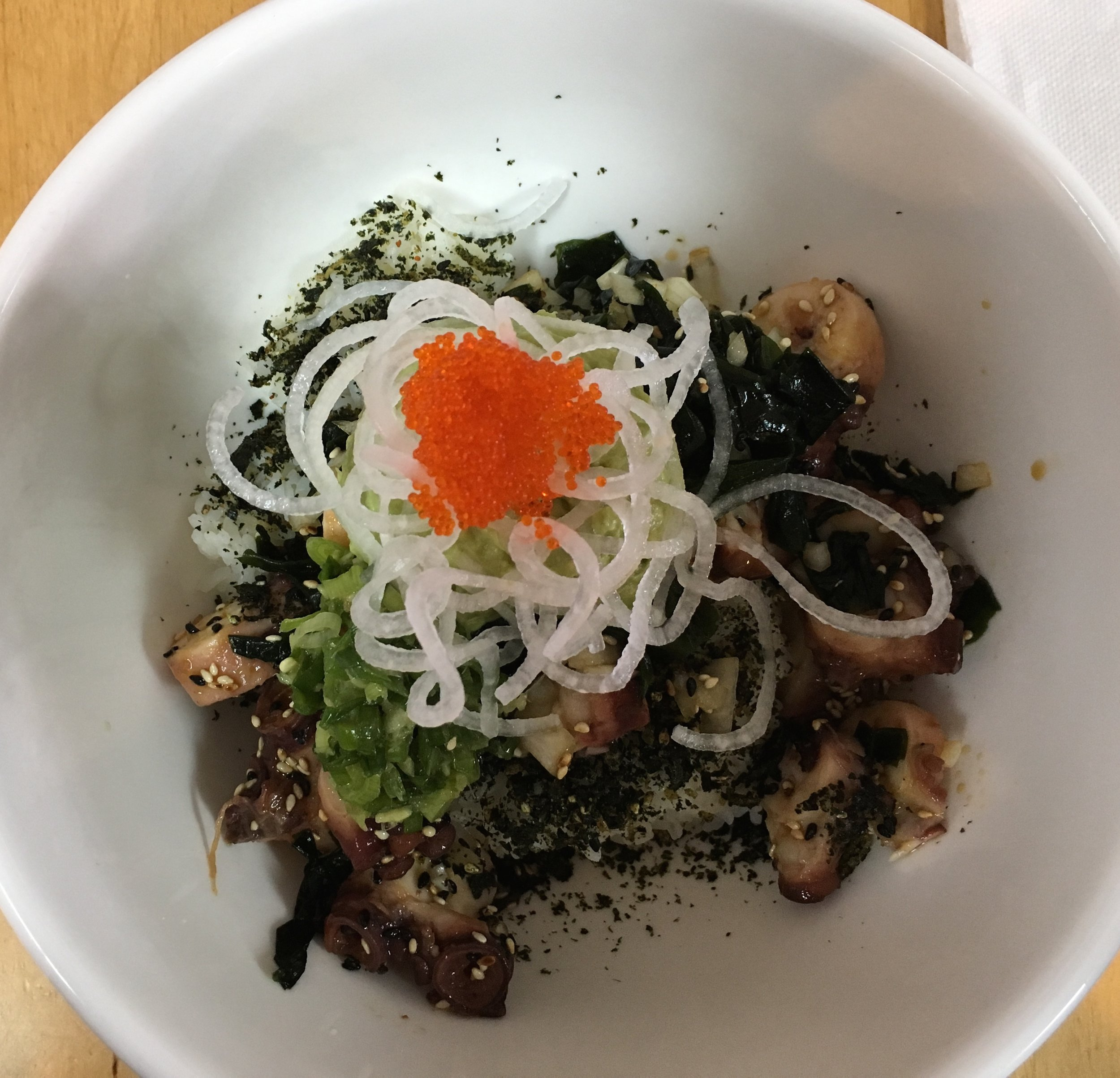 Dave's Octopus Poke