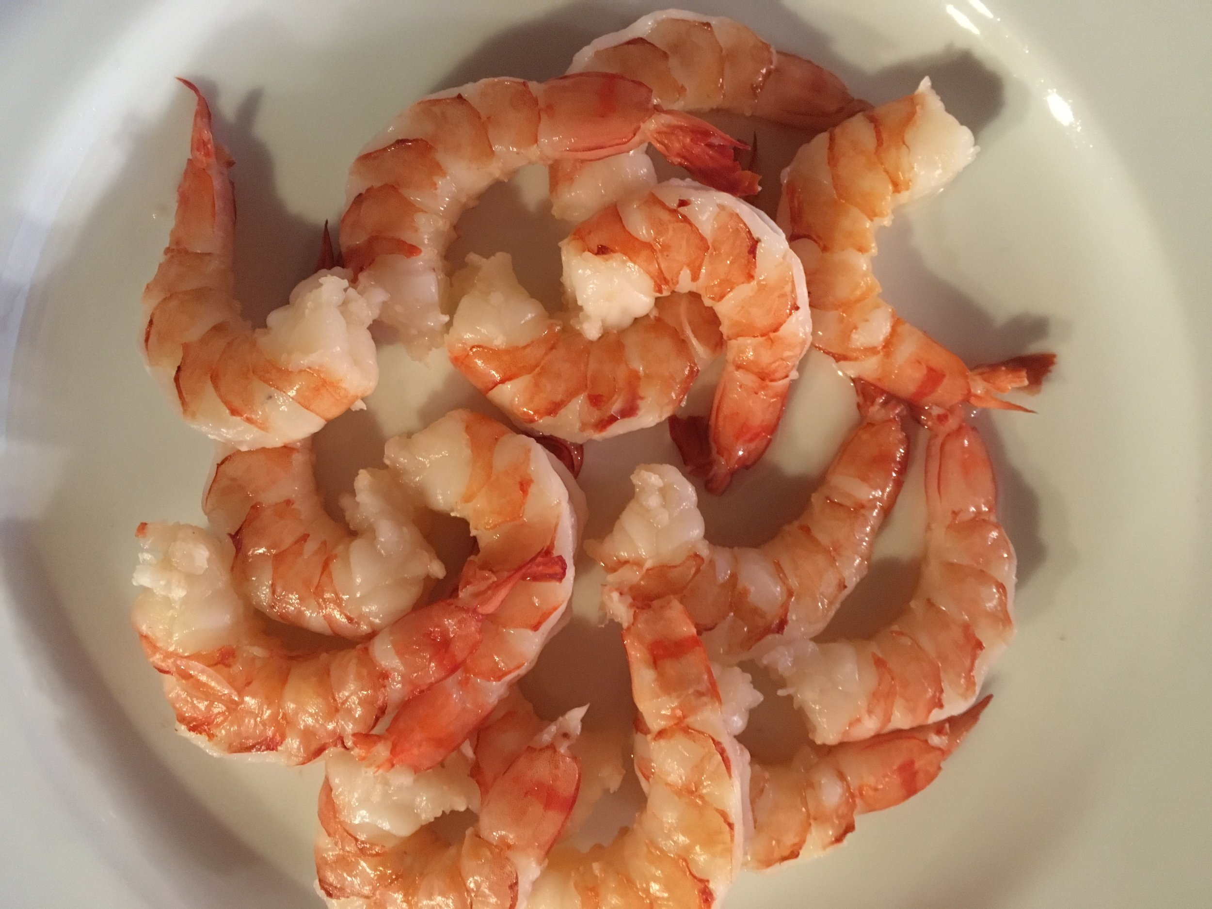 We added prawns for extra protein