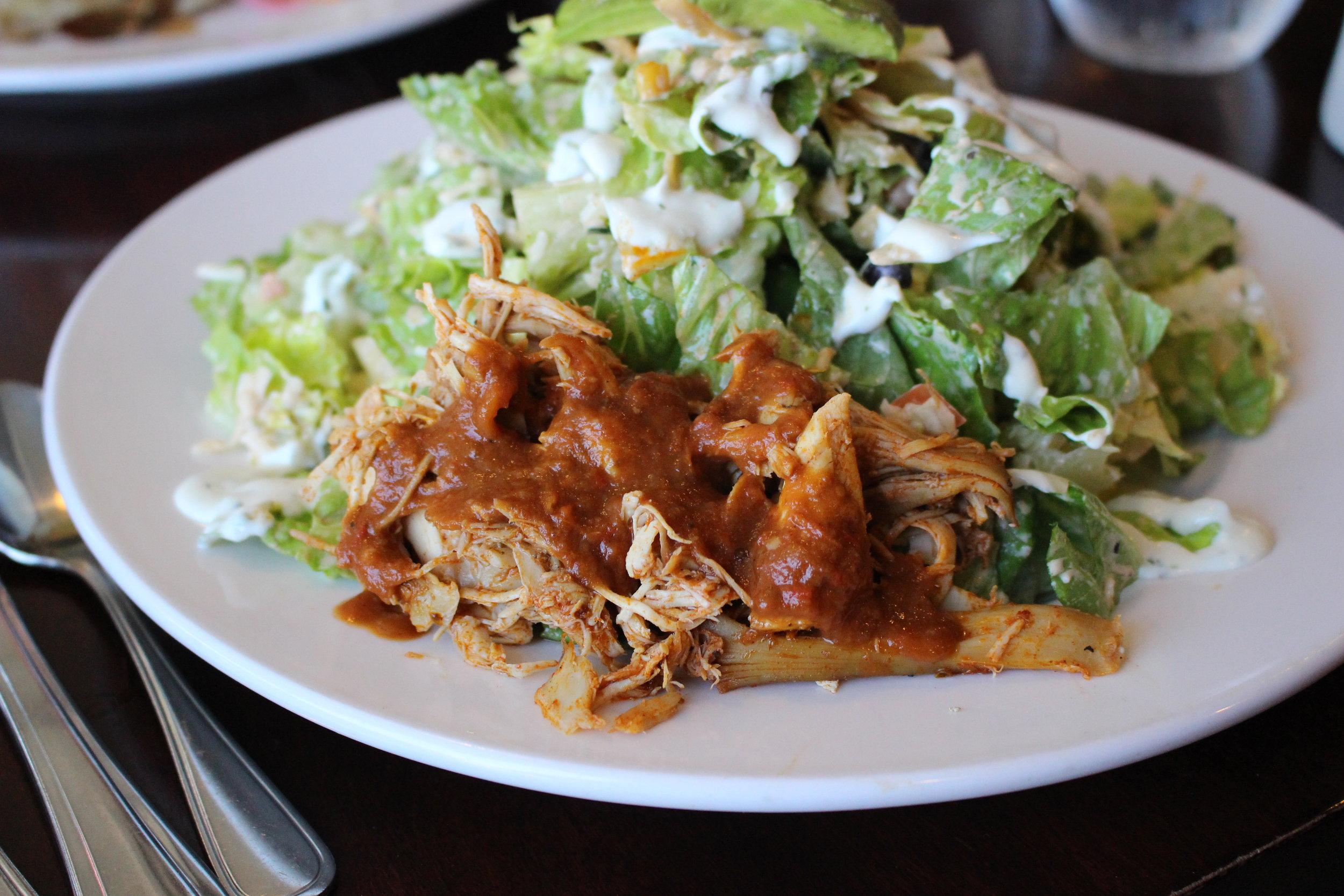 Ruby Chicken Taco Salad