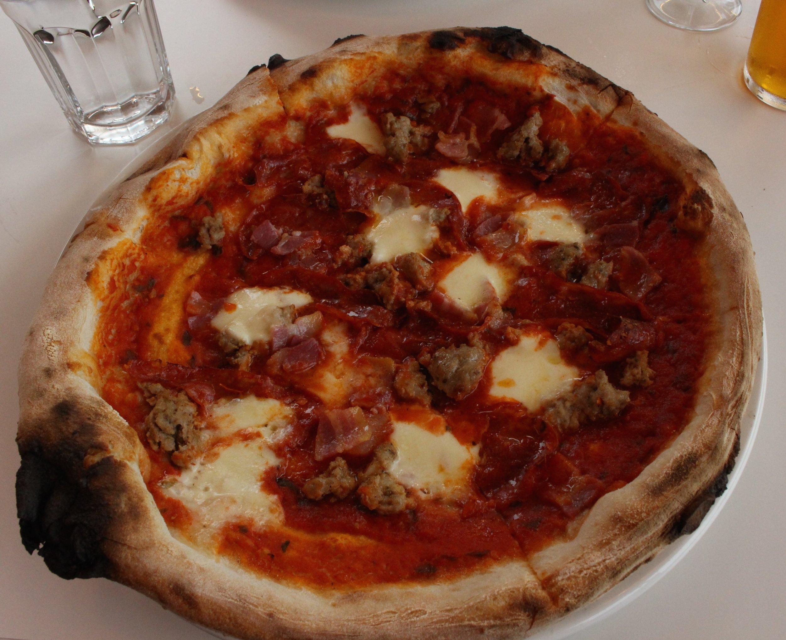 Dave's pizza,  Cappriciosa