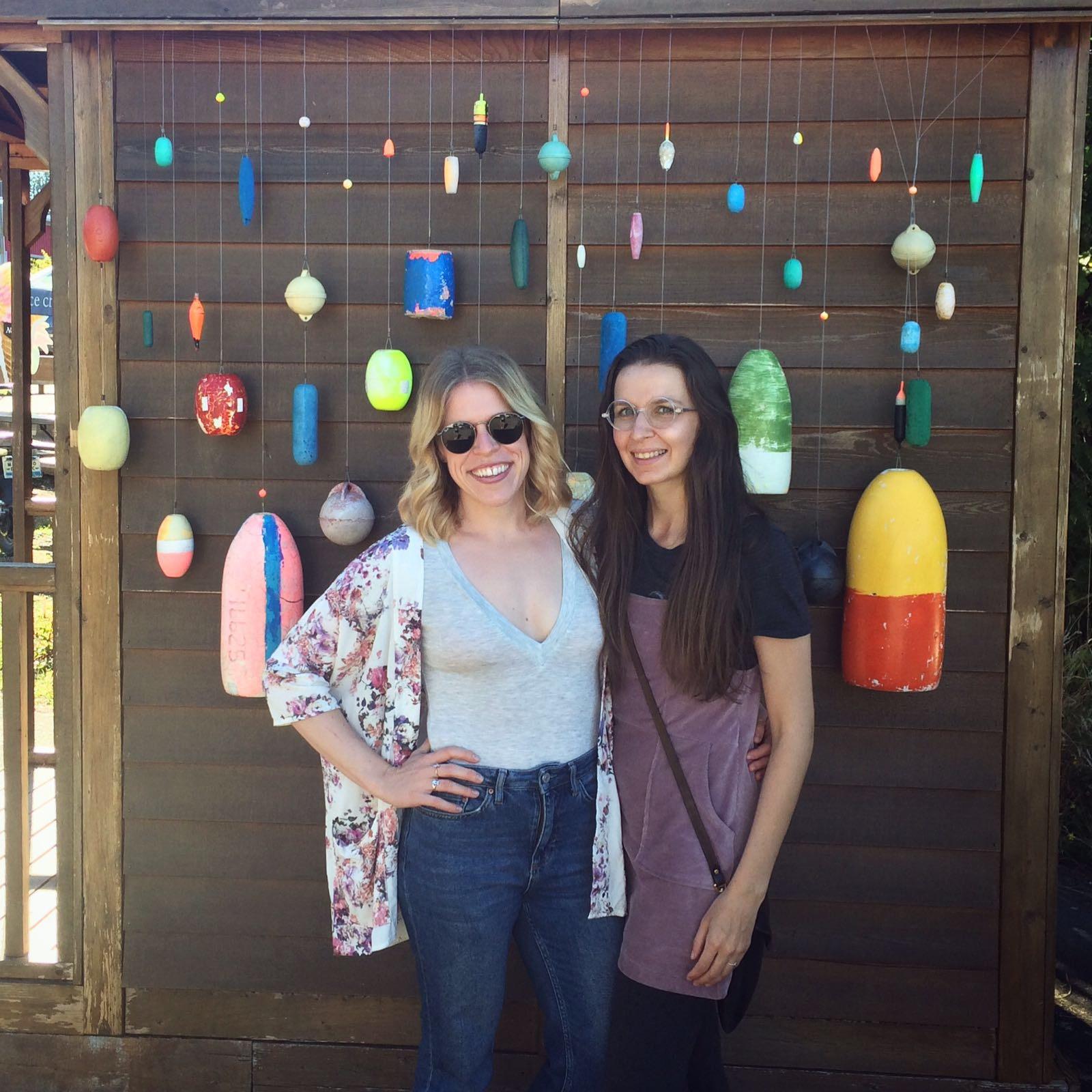 With my friend Elyse