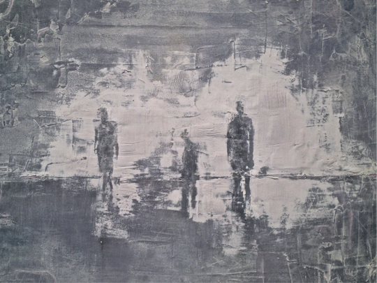 """Detail of  """"THE DRIFTERS"""""""