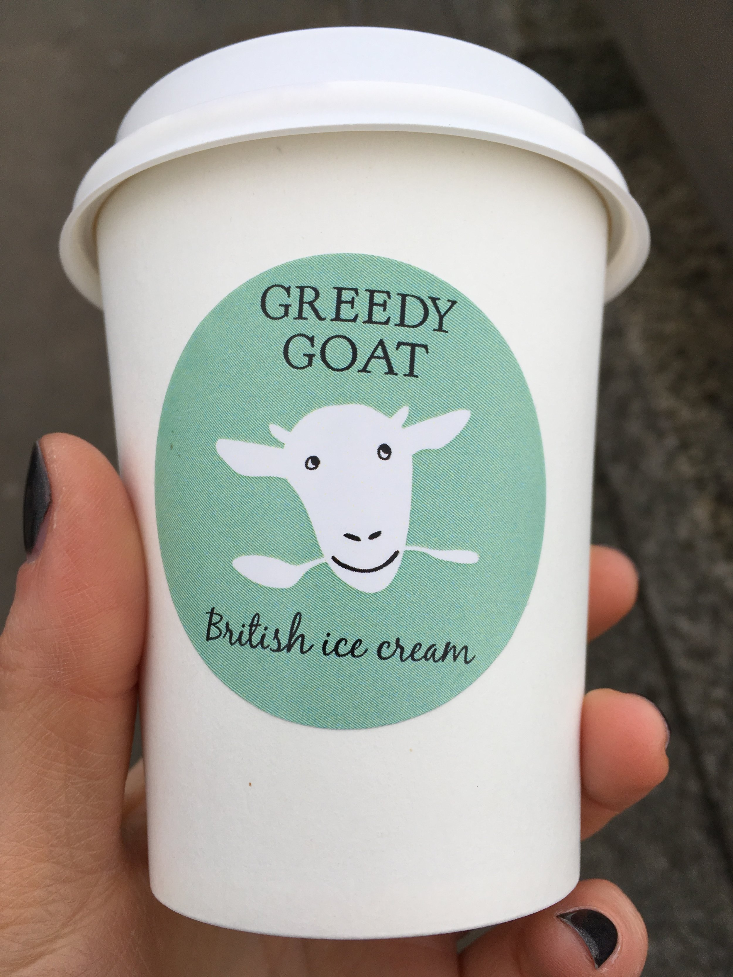 Delicious goats milk hot chocolate