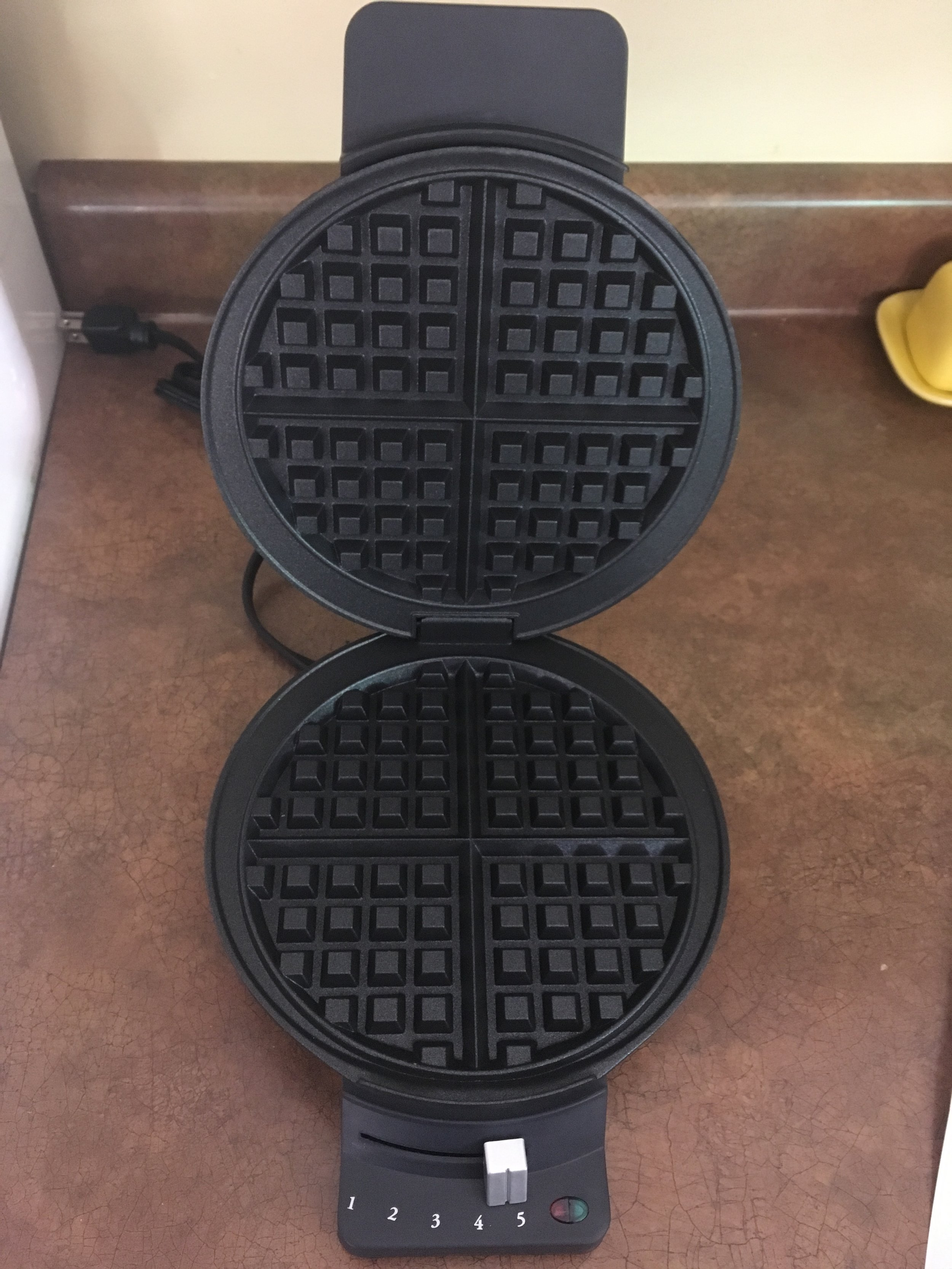 My birthday present from my parents this year. I have wanted a waffle maker for as long as I can remember.