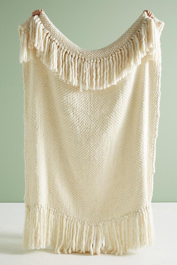 Anthropologie   ,  Iceland Throw Blanket,  $98.00