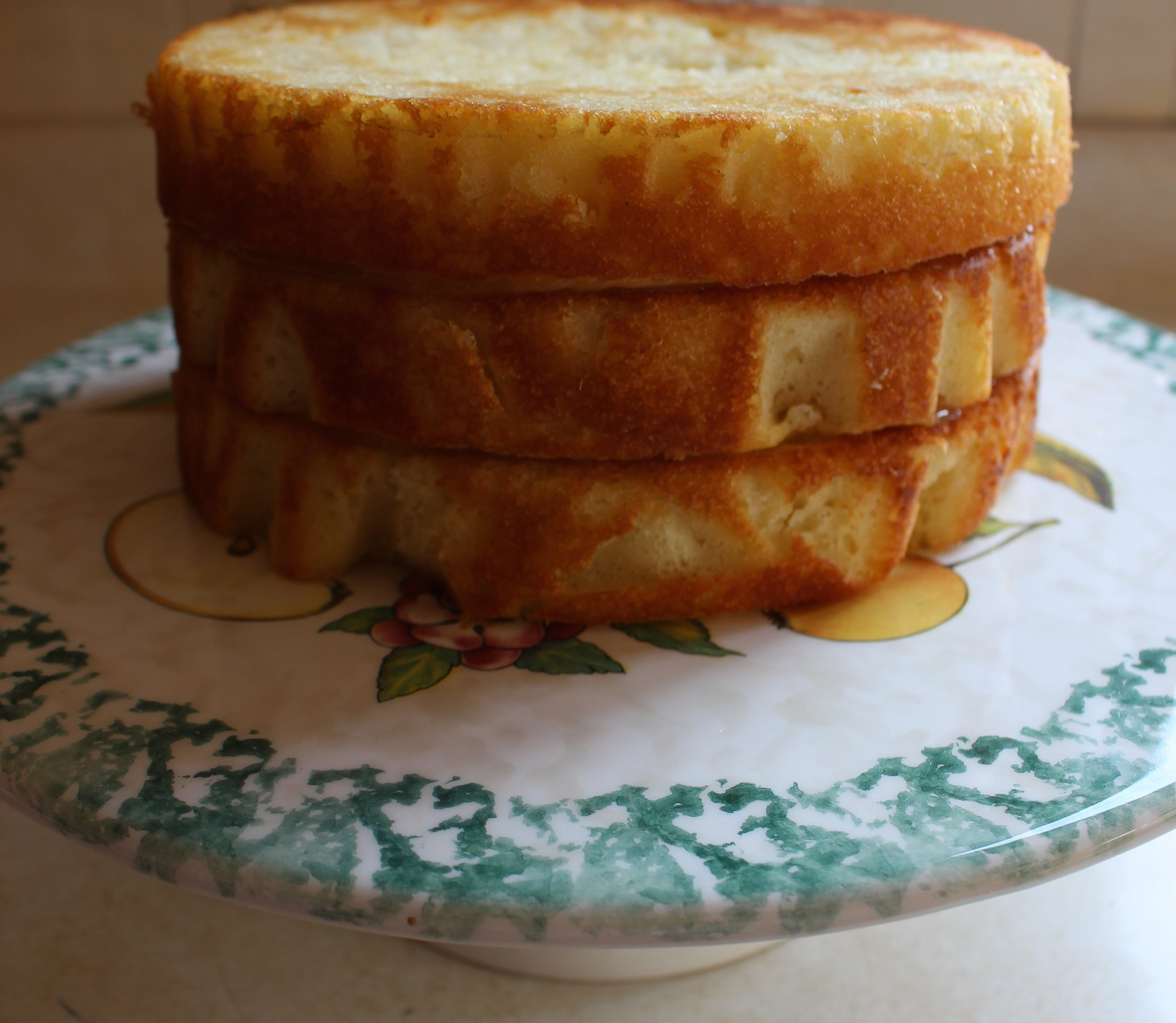 Triple-Layer Cake