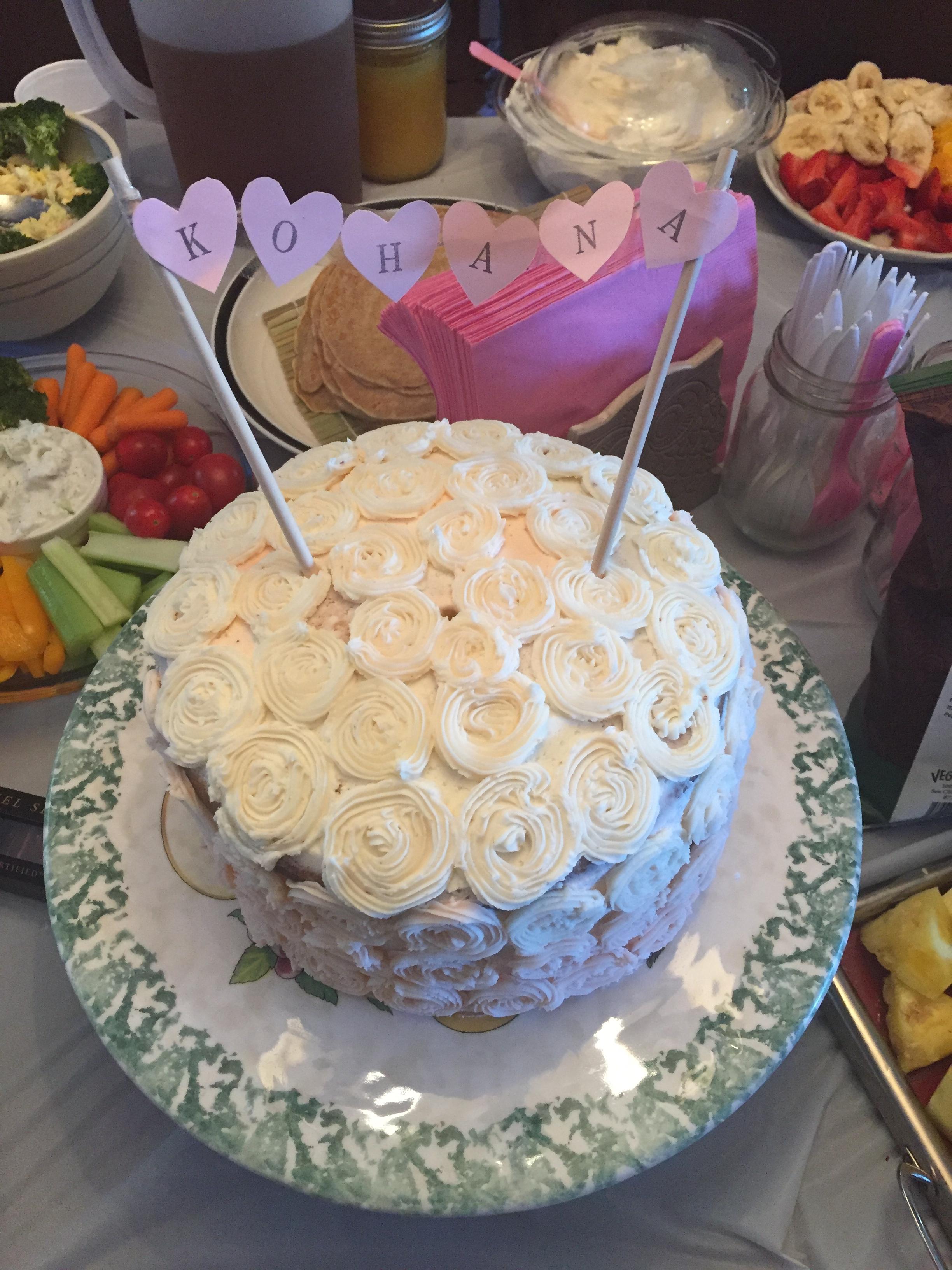 Kohana's 1st Birthday Cake
