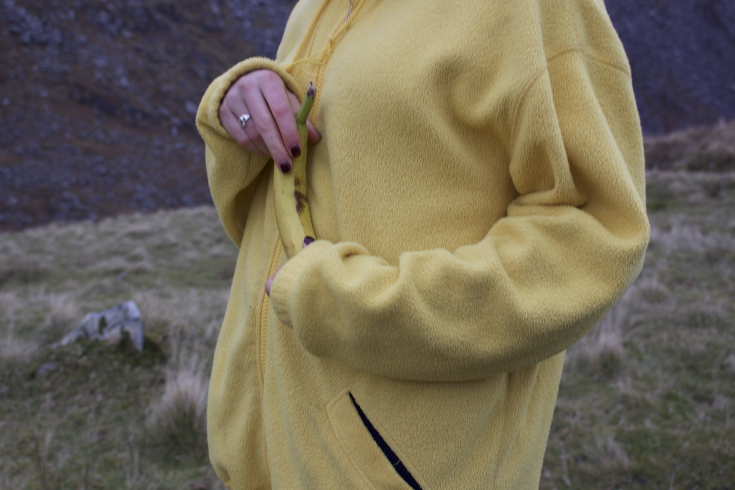 The famous 'banana' fleece