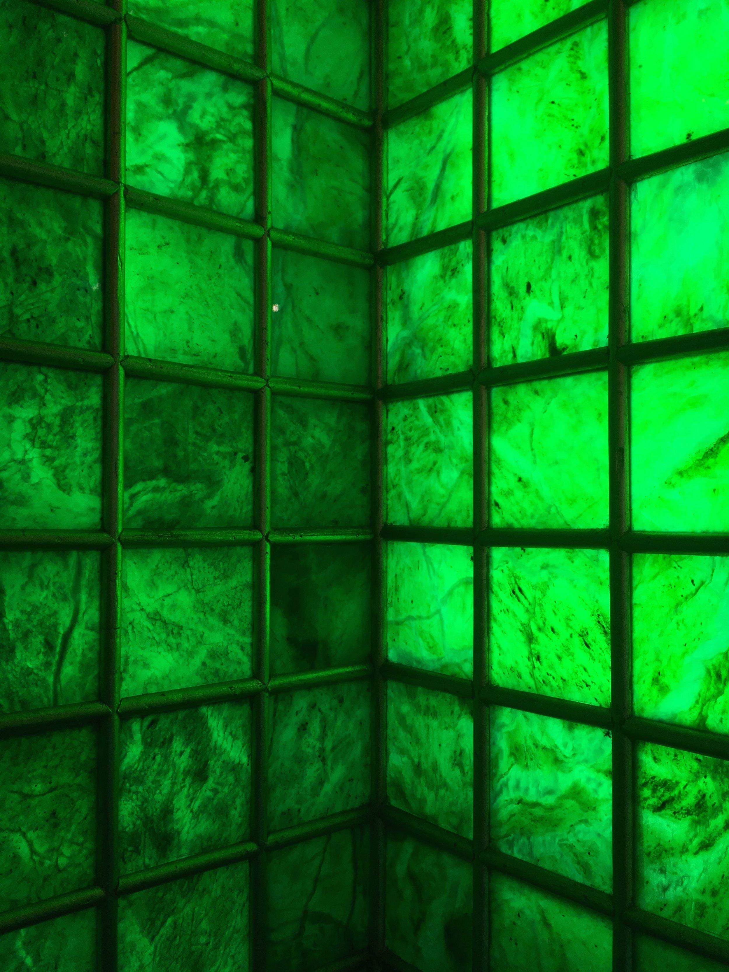The emerald temple