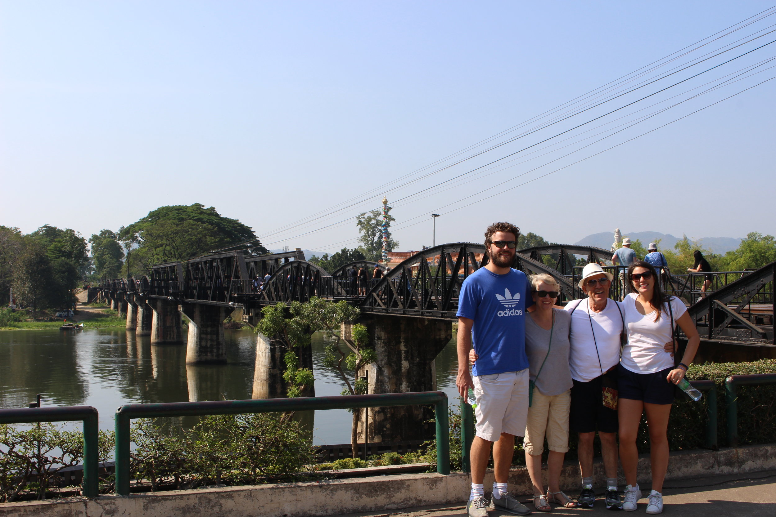The family at the Death Railway