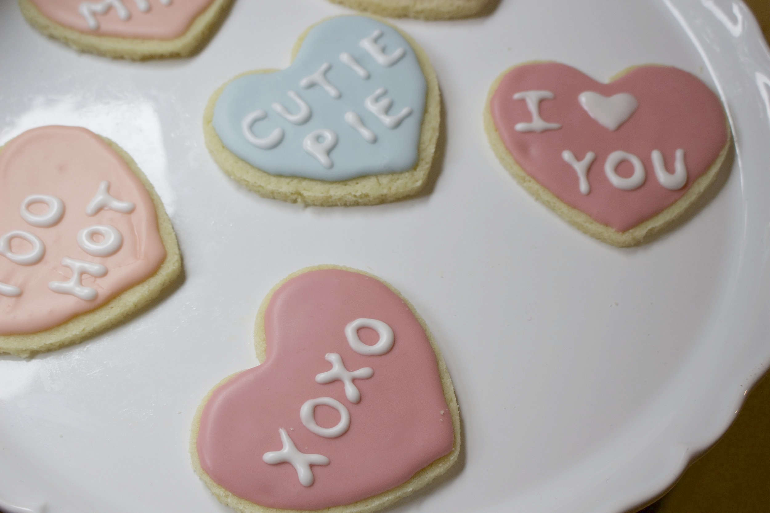 Inspired by my favourite Valentine treat: Conversation Hearts